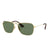 New Ray-Ban RB3610 001/71 Gold Sunglasses Green Classic Lens