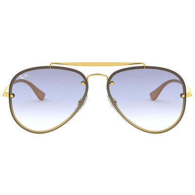 Ray Ban RB3584N 3584 001/19 Blaze Aviator Sunglasses | Front View