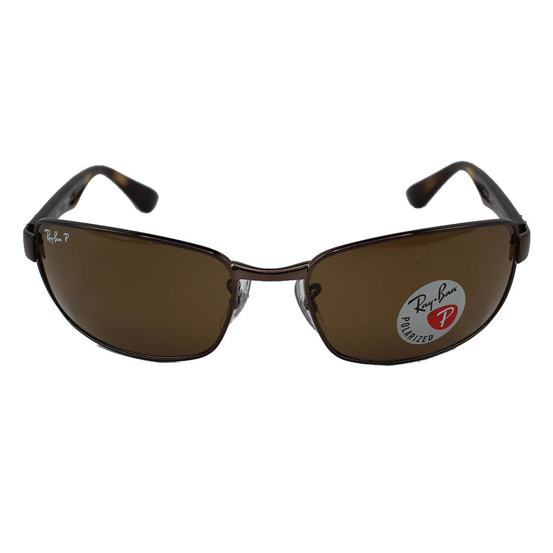 New Authentic Ray-Ban RB3478 014/57 Sunglasses Crystal Brown Polarized Lens