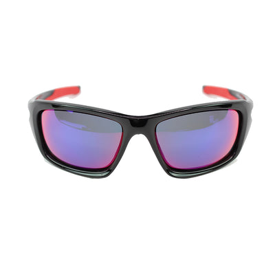 Oakley Valve Sunglasses In Positive Red Iridium Lens - Front