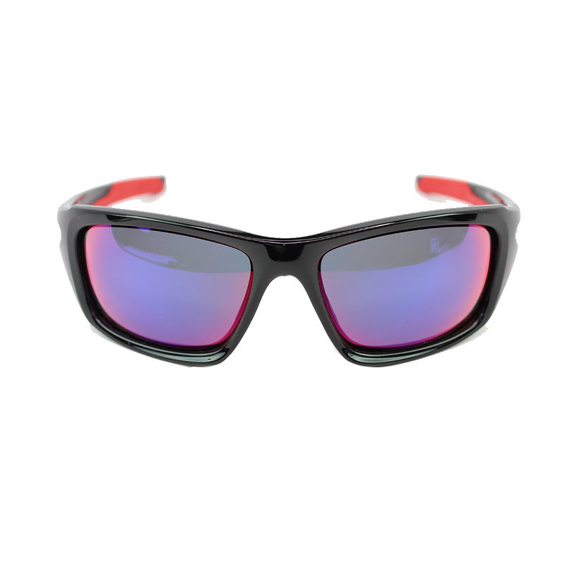 Oakley Valve Sunglasses In Positive Red Iridium Lens