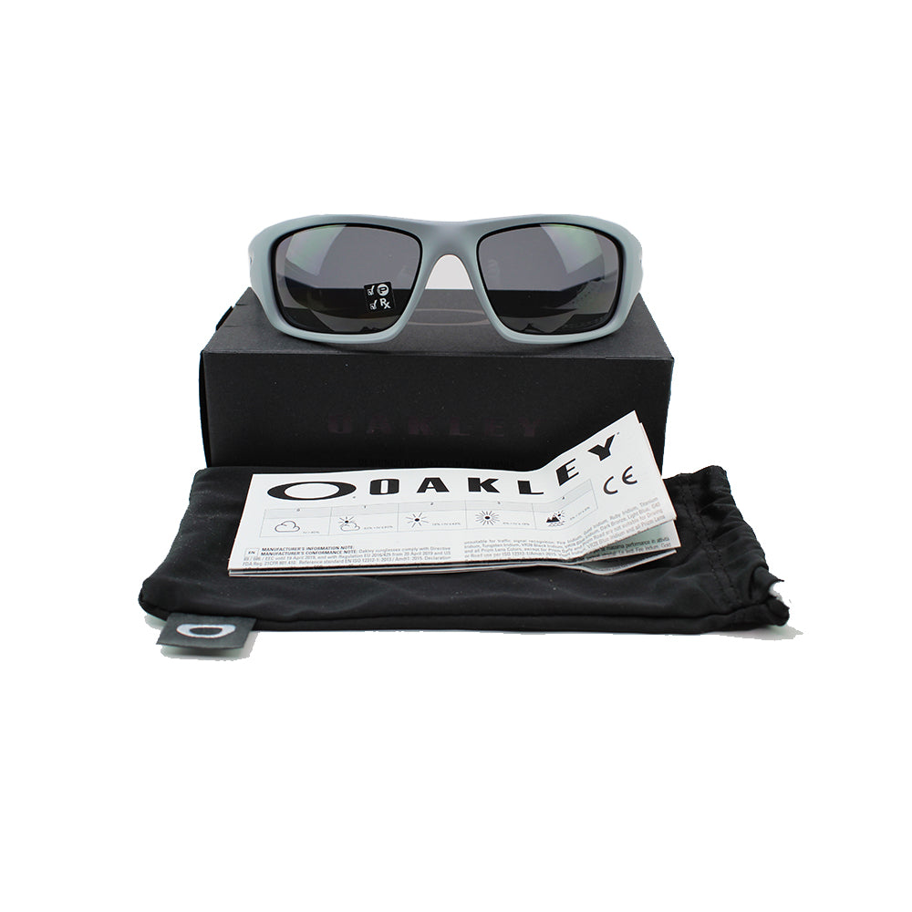 Oakley Valve Sunglasses In Grey Polarized Lens For Men