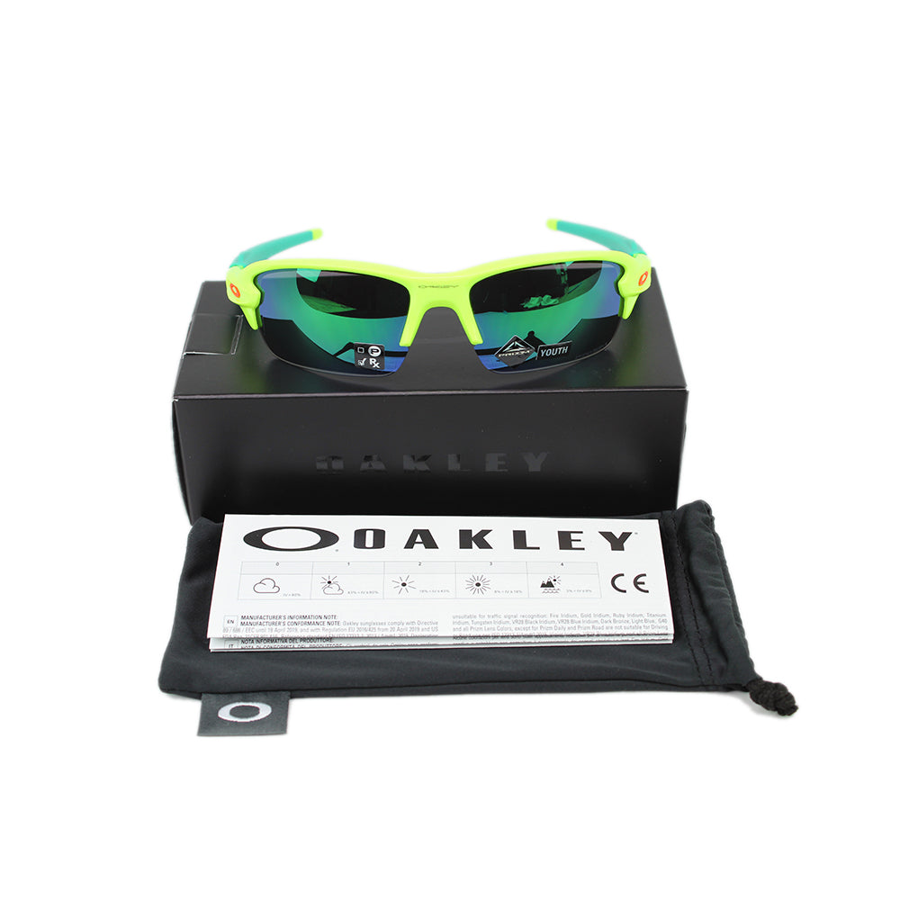 New Oakley Flak XS (Youth Fit) Sunglasses Prizm Jade Lens