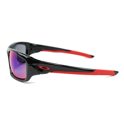 Oakley Valve Sunglasses In Positive Red Iridium Lens - Side View