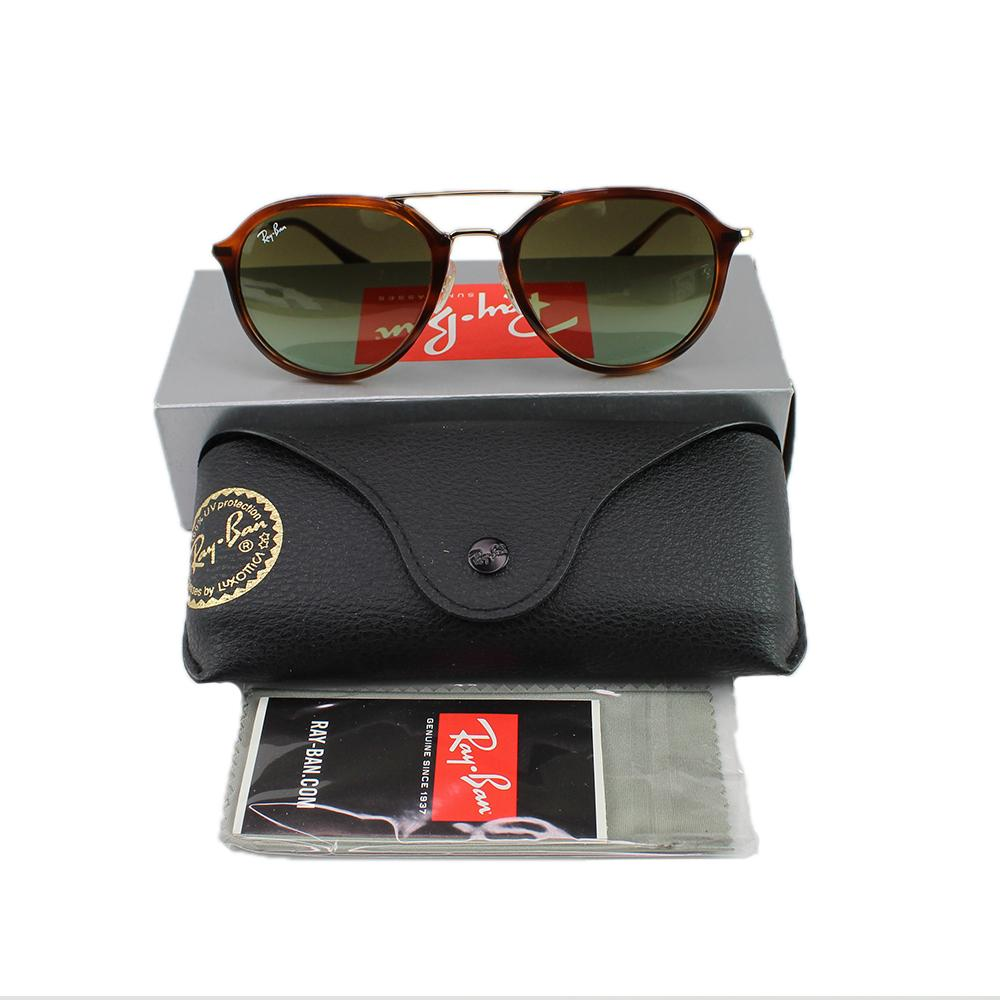 New Authentic Ray-Ban RB4253 820/A6 53MM Unisex Sunglasses Green Gradient Lens