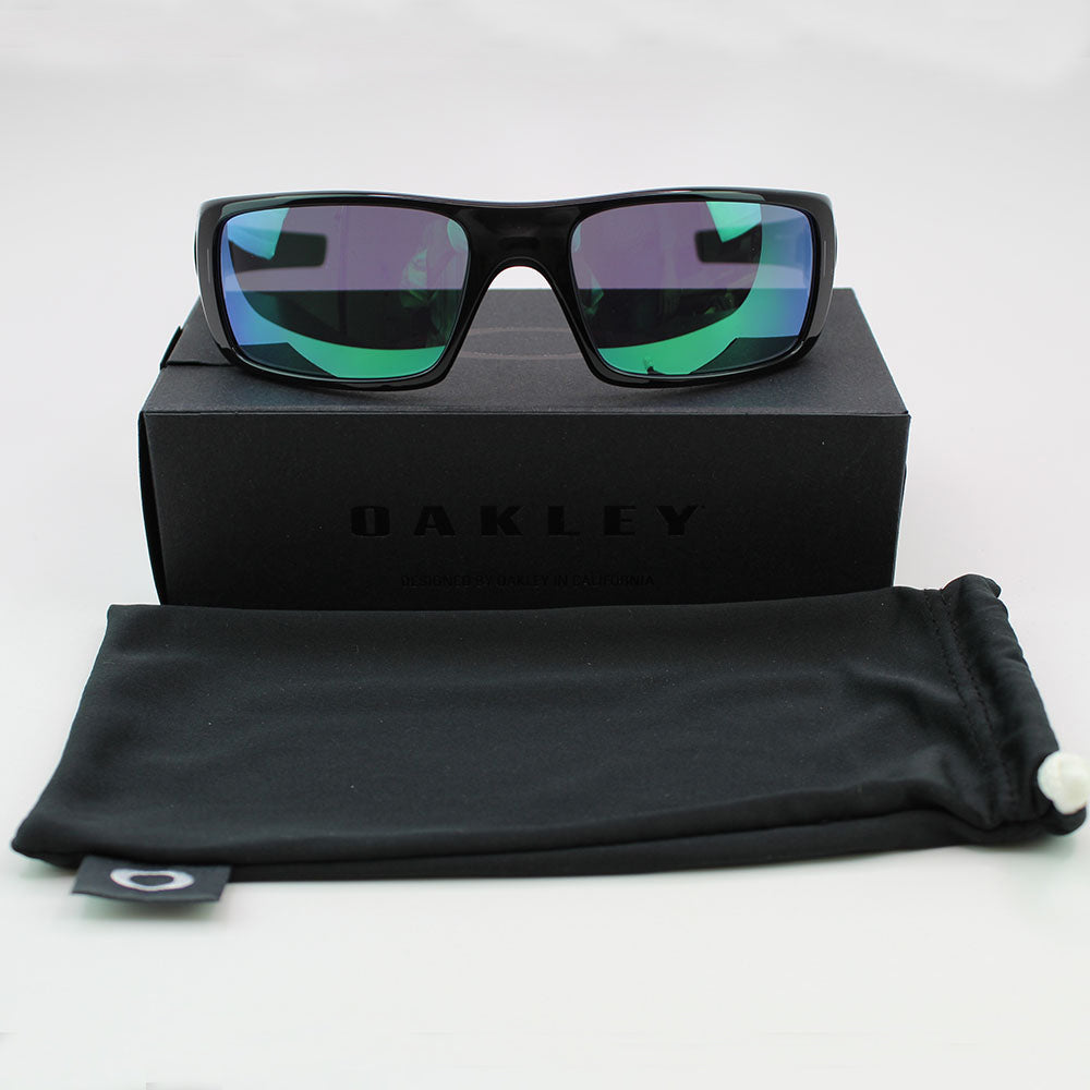 Oakley Crankshaft Sunglasses with Ba;ck Ink Frame Color