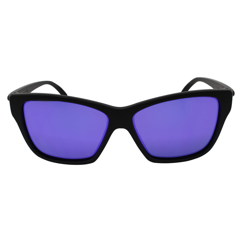 New Authentic Oakley Sunglasses Matte Black OO9298-08 Violet Iridium Lens