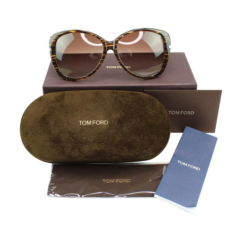 Tom Ford TF0324 50F Linda Oversize Sunglasses | Shades HQ