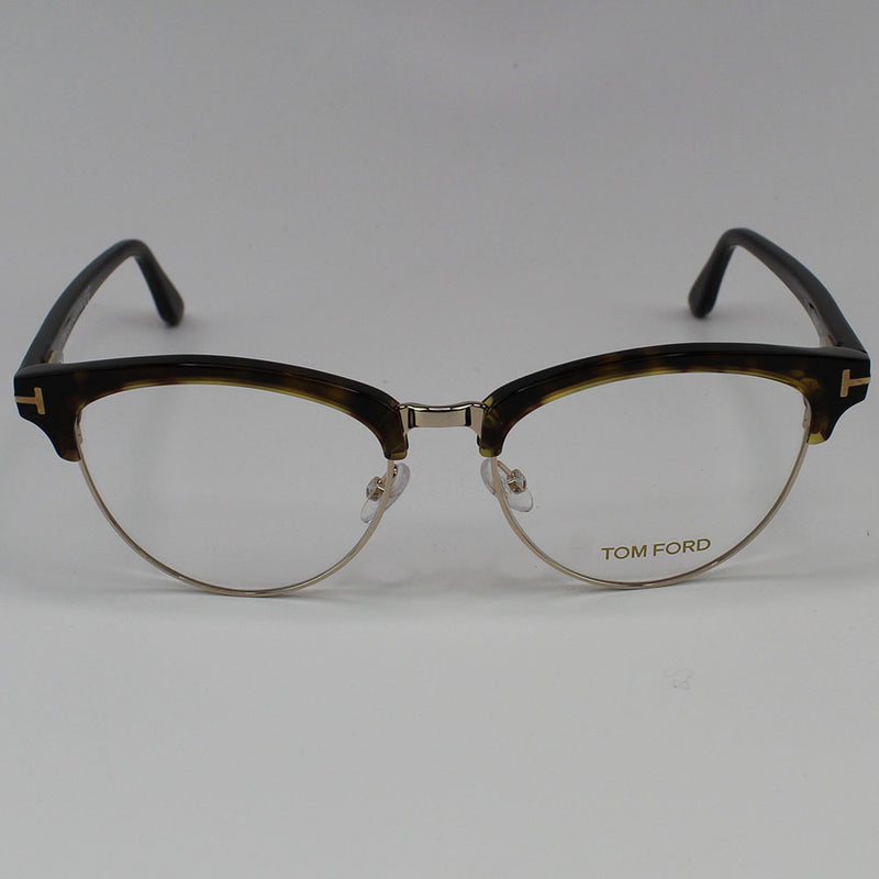 Tom Ford Eyeglasses Havana Frame Demo Lens Women - Full