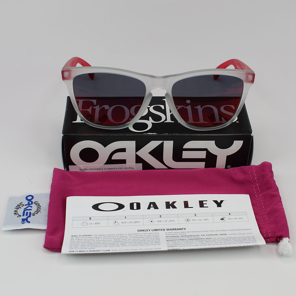 Oakley Frogskins Men Sunglasses Torch Iridium Lens