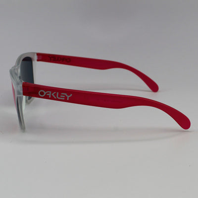Oakley Frogskin Sunglasses With Torch Iridium Lens - Side View