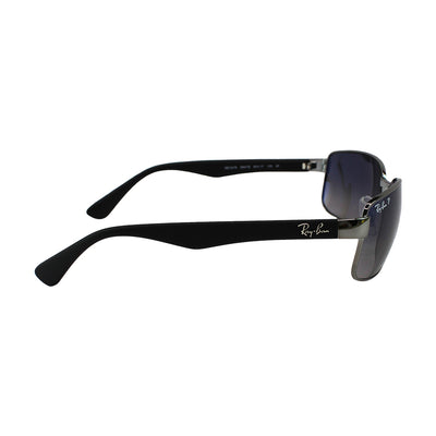 Ray-Ban Sunglasses Blue/Grey Polarized Gradient Lens