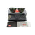 RB3016 W0365 Ray-Ban Clubmaster Black Frame Sunglasses Green Lens