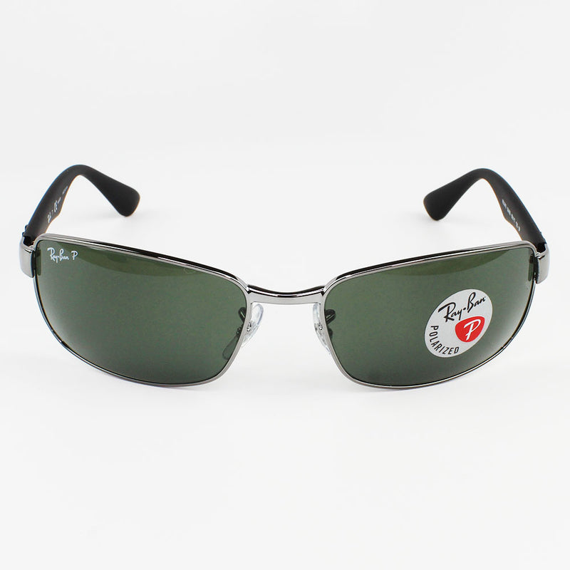 New Authentic Ray-Ban RB3478 004/58 Sunglasses Green Polarized Lens
