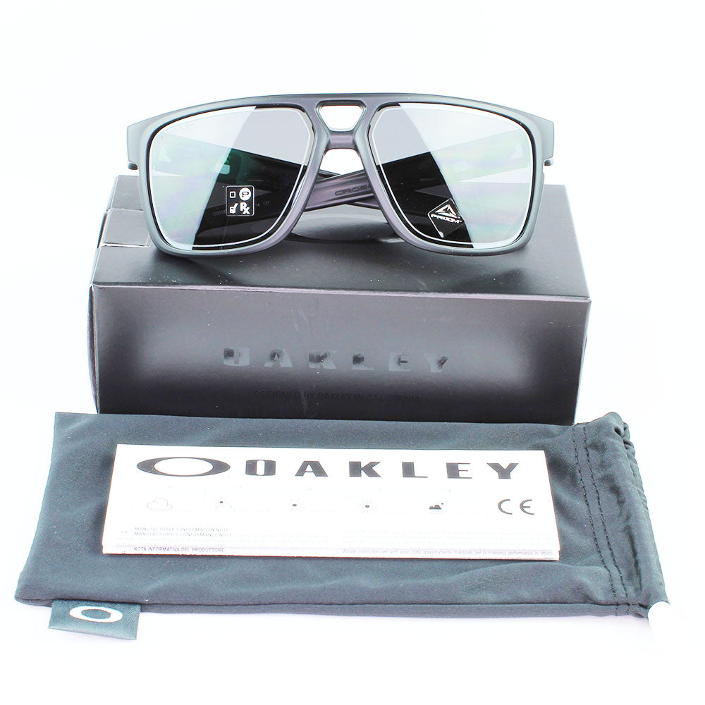 New Authentic Oakley OO9382 2060 Crossrange Patch Sunglasses Prizm Grey Lens