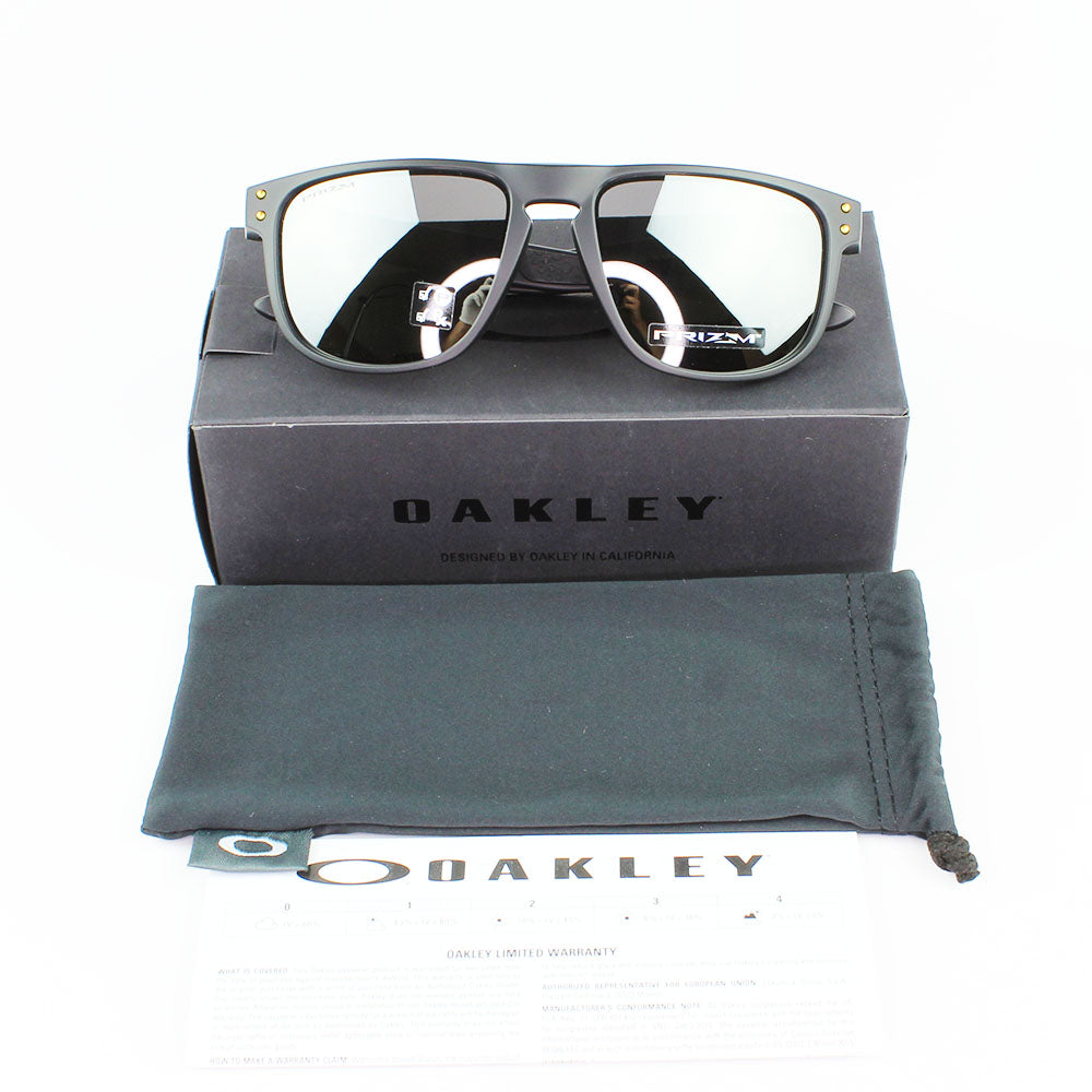New Authentic Oakley OO9377-09 Holbrook R Sunglasses Prizm Black Polarized Lens