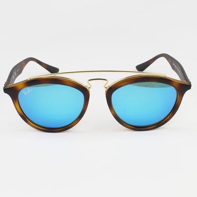 New Authentic Ray-Ban RB4257 609255 Gatsby II Sunglasses Blue Mirror Lens