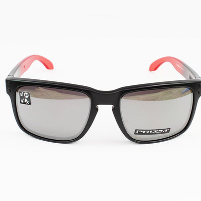 Authentic Oakley OO9102-D3 Holbrook Sunglasses Prizm Black Polarized Lens