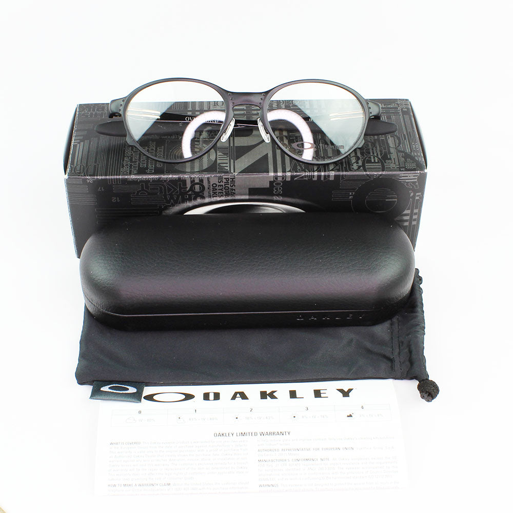 New Authentic Oakley OX5067-0251 Overlord Eyeglasses Demo Lens