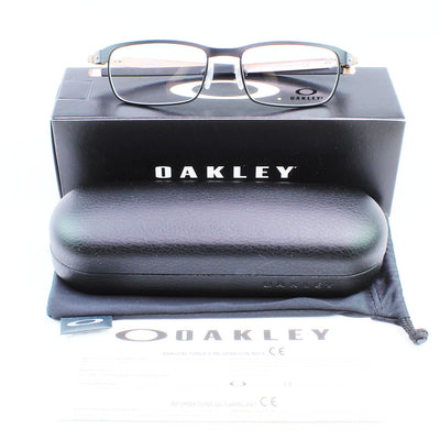 New Authentic Oakley OX3184-05 Tin Cup Eyeglasses Demo Lens