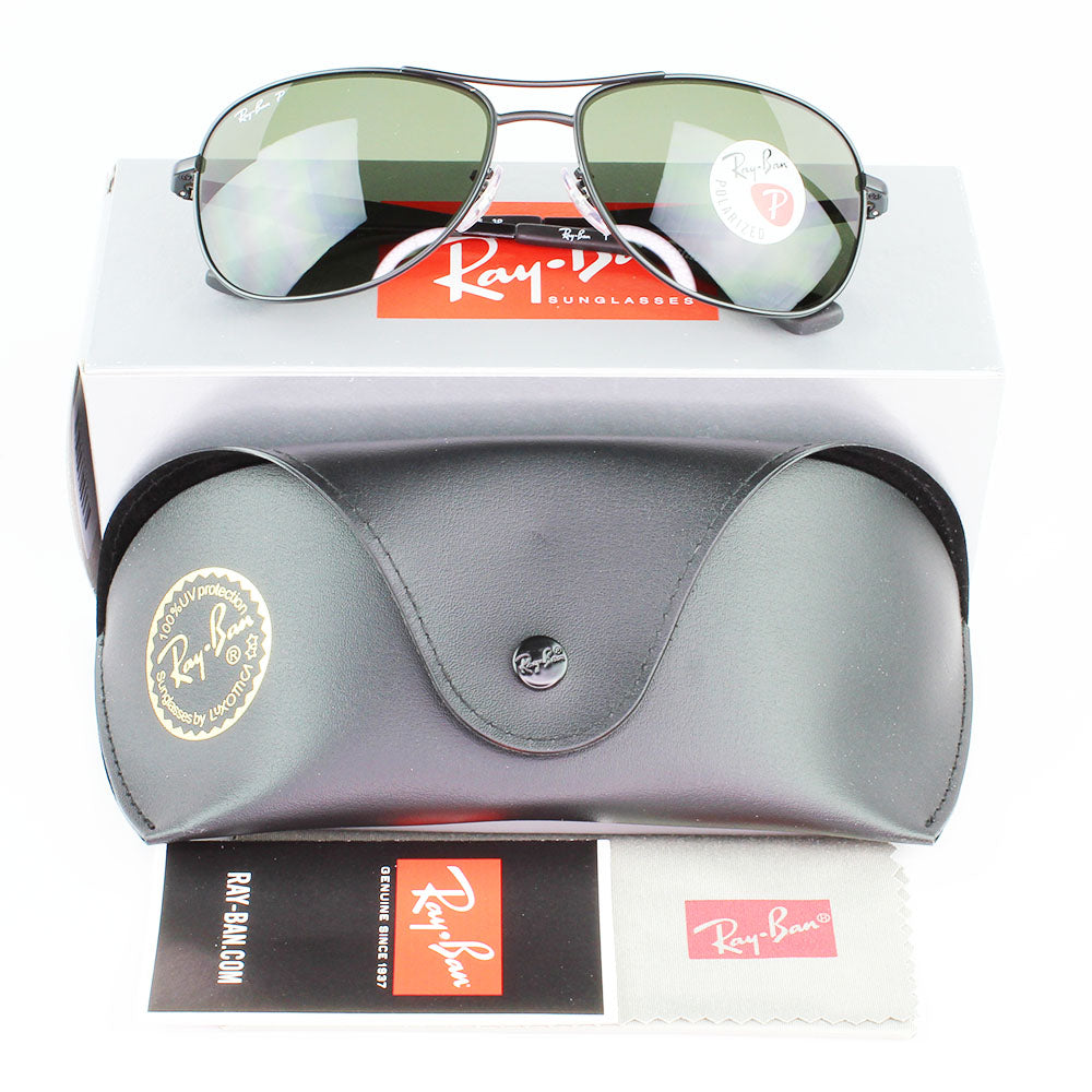 Ray Ban RB3519 006/9A 59 Matte Black Sunglasses for Men | Shade HQ