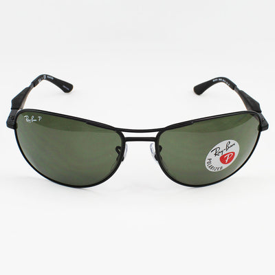 New Authentic Ray-Ban RB3519 006/9A Sunglasses Green Polarized Lens
