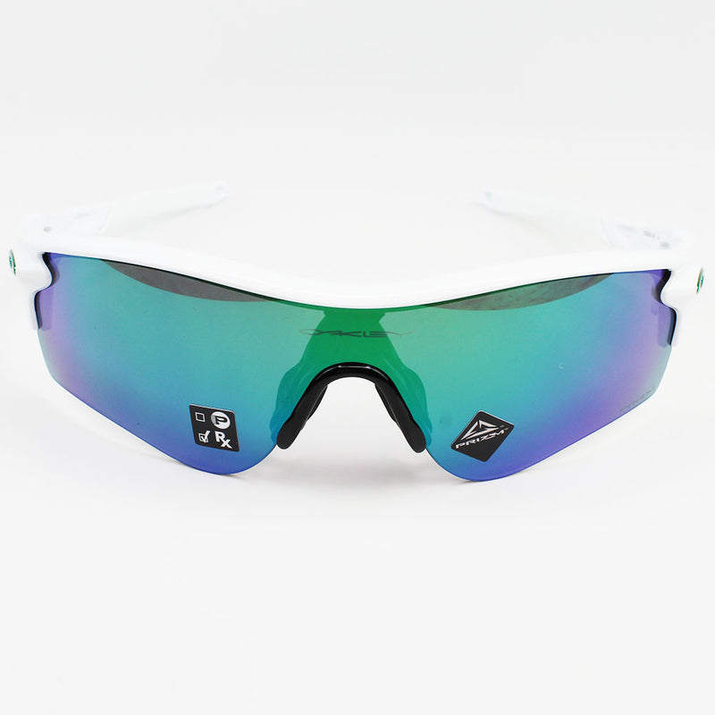 Authentic Oakley OO9206-43 Radarlock Path Sunglasses Prizm Jade Iridium Lens
