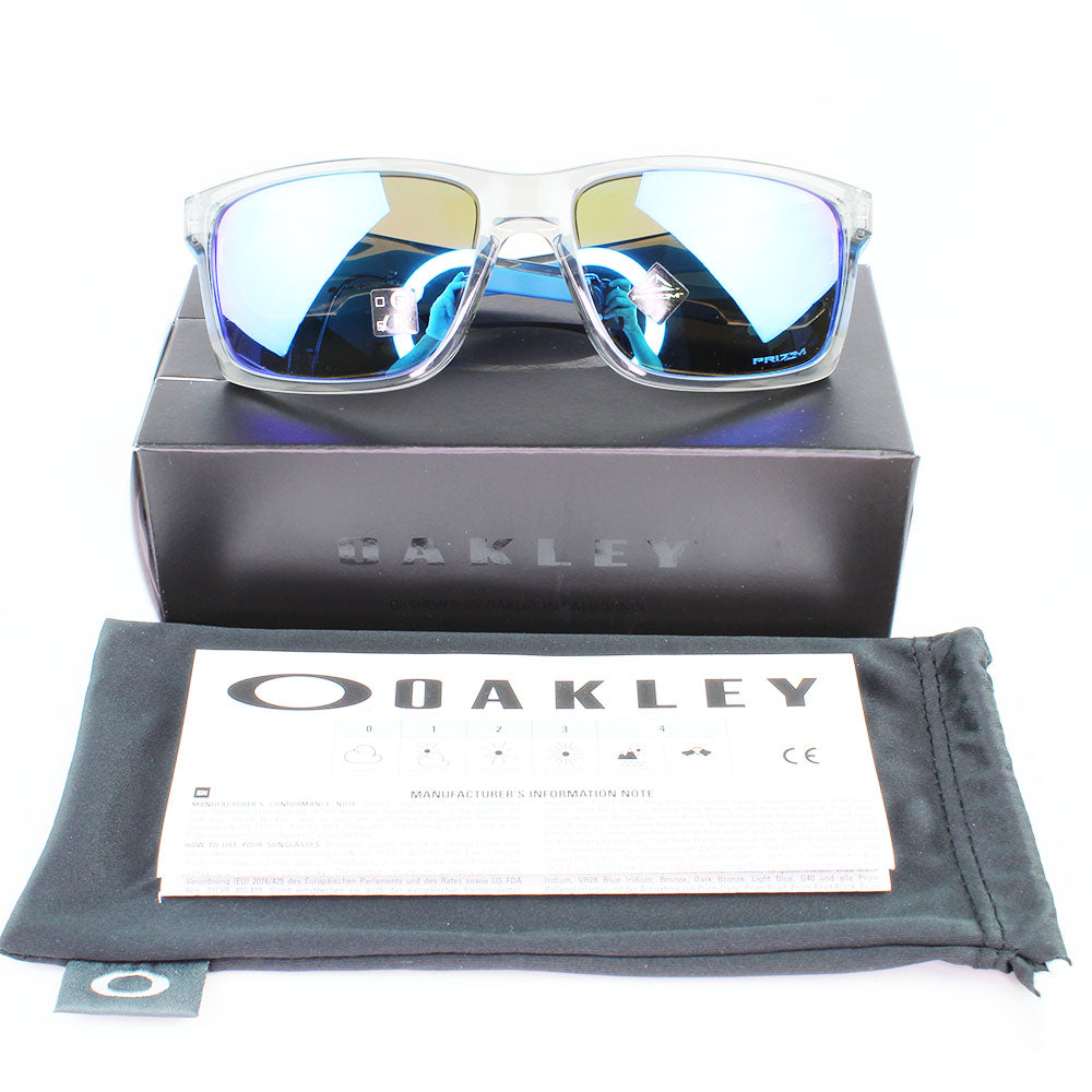 New Authentic Oakley OO9264-42 Mainlink Sunglasses Prizm Sapphire Lens