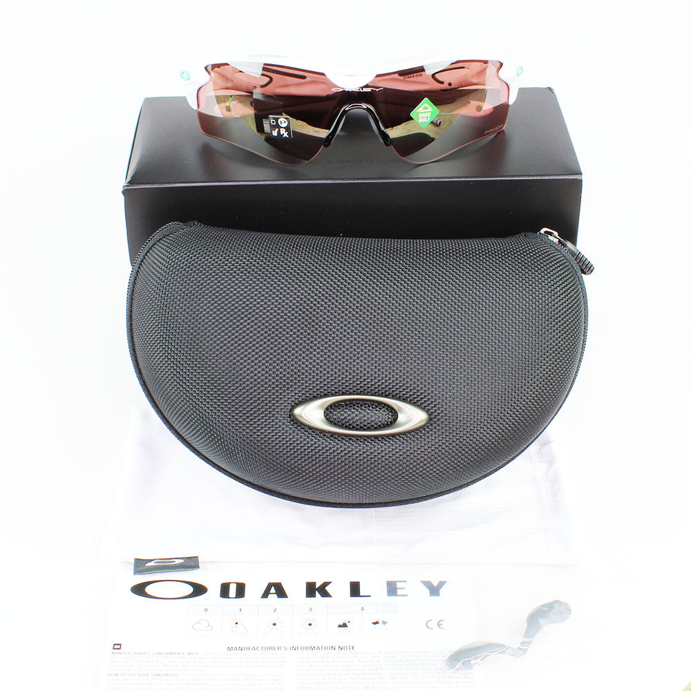 New Authentic Oakley OO9206 50 Radarlock Path Sunglasses Prizm Dark Golf Lens