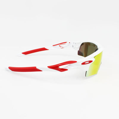 Authentic Oakley OO9206-46 Radarlock Path Sunglasses Prizm Ruby Lens