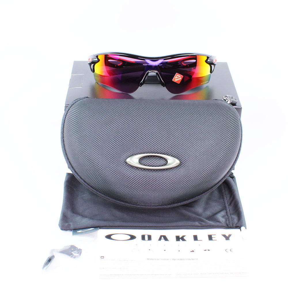 New Authentic Oakley OO9206 3738 Radarlock Path (AF) Sunglasses Prizm Road Lens