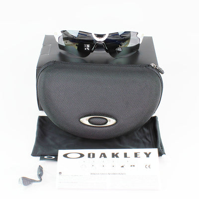 New Authentic Oakley OO9206 4738 Radarlock Path (AF) Sunglasses Prizm Black Lens