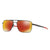 New Authentic Oakley OO6038-0457 Gauge 6 Sunglasses Prizm Ruby Polarized Lens