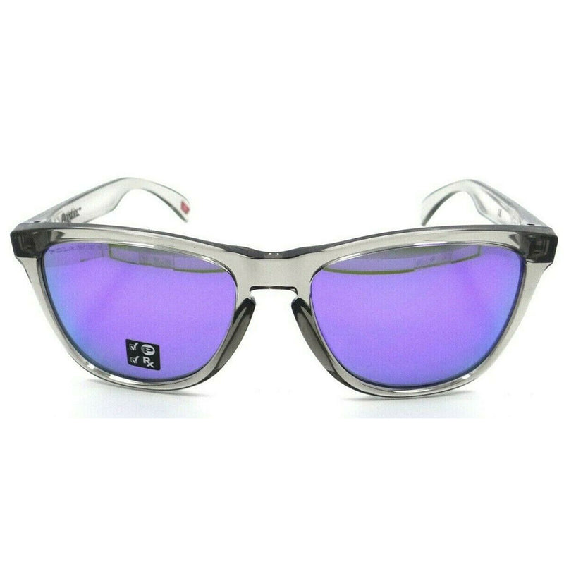 Authentic Oakley OO9013-I155 Frogskins Sunglasses Violet Iridium Polarized Lens