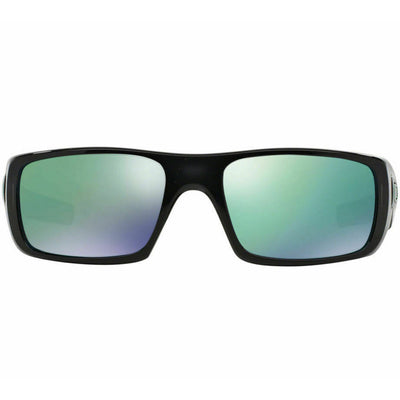 Oakley Crankshaft Sunglasses Jade Iridium Mirrored Lenses made with Plastic