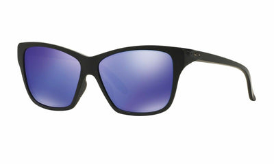 Oakley Hold On Sunglasses Violet Iridium Mirrored Lens in Cat Eye Style