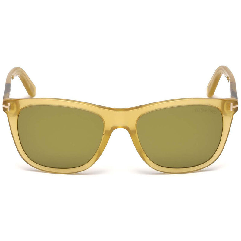 New Authentic Tom Ford FT0500 41N Andrew Sunglasses Green Lens