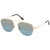 New Authentic Tom Ford FT0667 28X Abott Sunglasses Blue Mirrored Lens