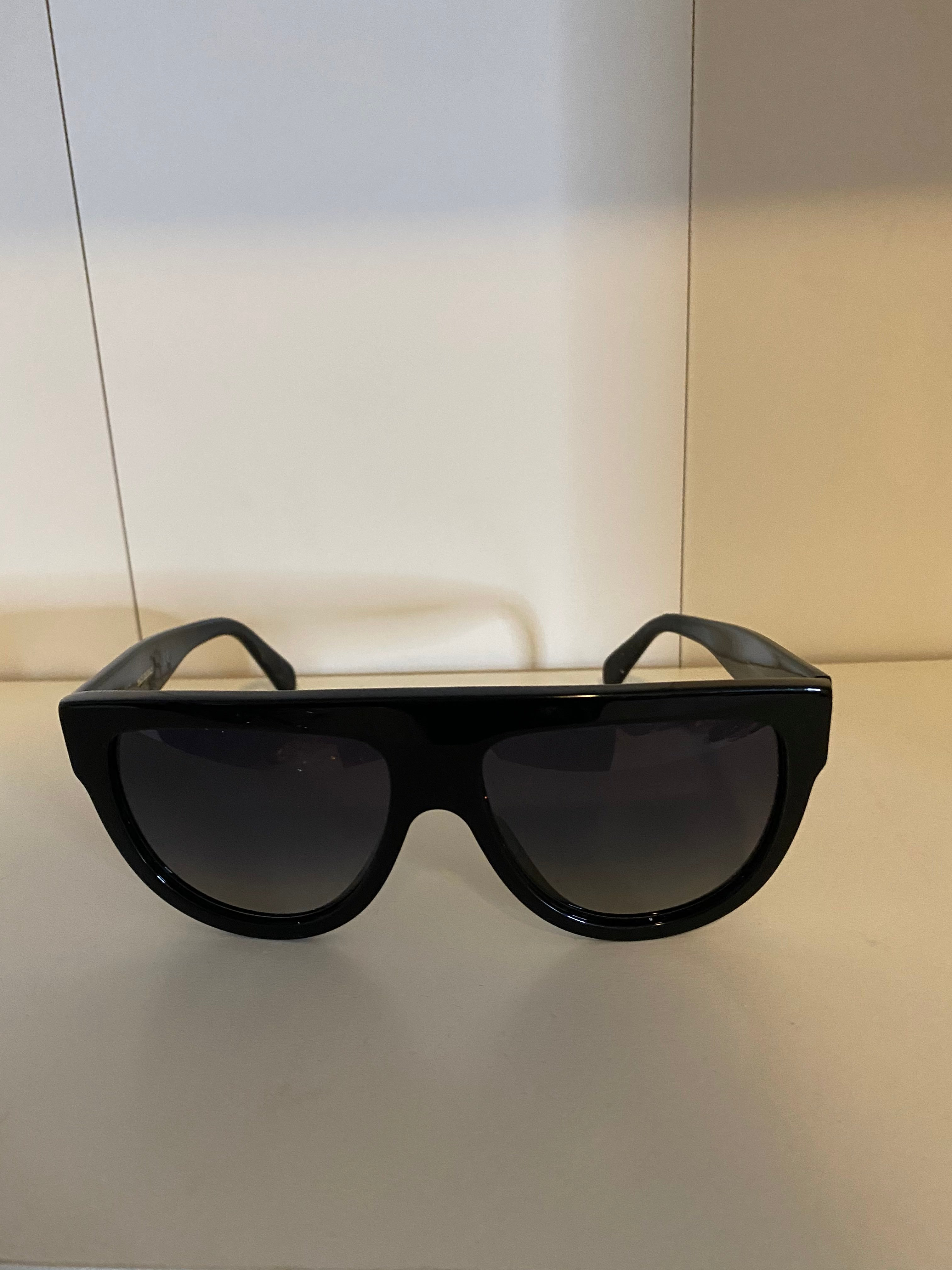 Consignment Item: Flattop Gradient Shield Sunglasses