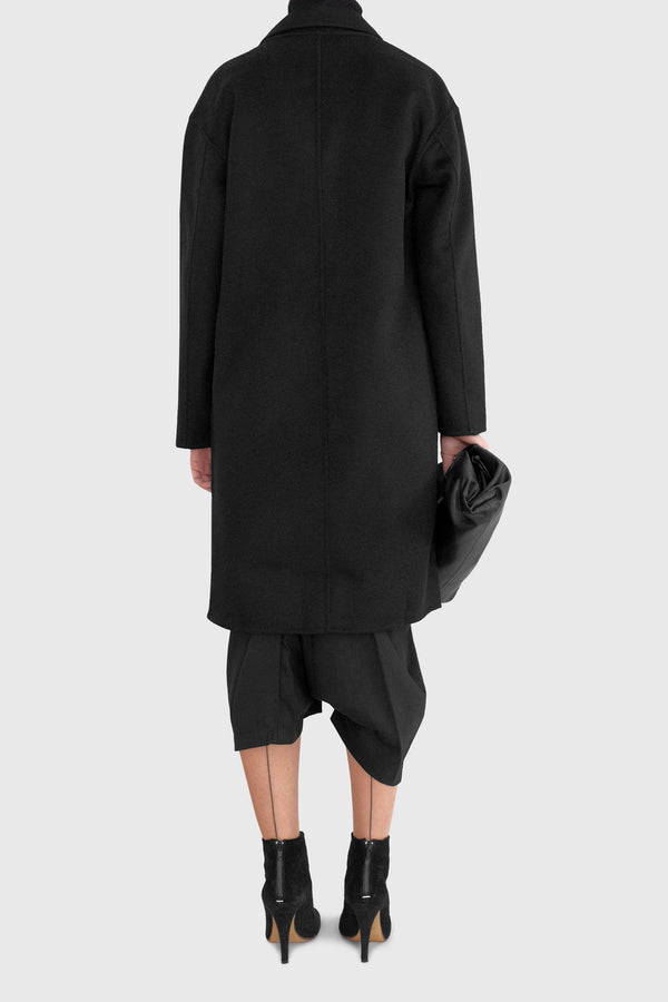 Jade Unlined Lightweight Woolen Coat