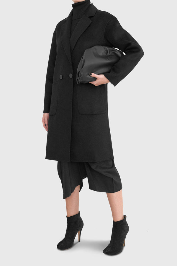 Jade Unlined Lightweight Woolen Coat - ИOKO - nokoclub.com