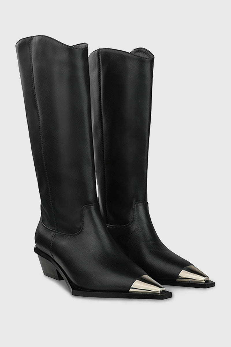 Jess Metal Tip Western Boots