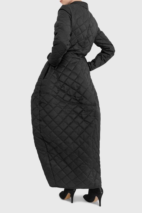 Kiera  Quilted Coat - ИOKO - nokoclub.com