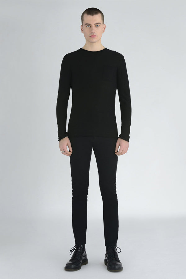 Gareth Cashmere KNITTED TOP - ИOKO - nokoclub.com