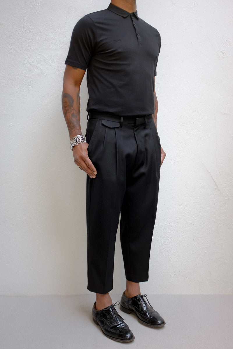 VINCI Ankle skimming trousers - ИOKO - nokoclub.com