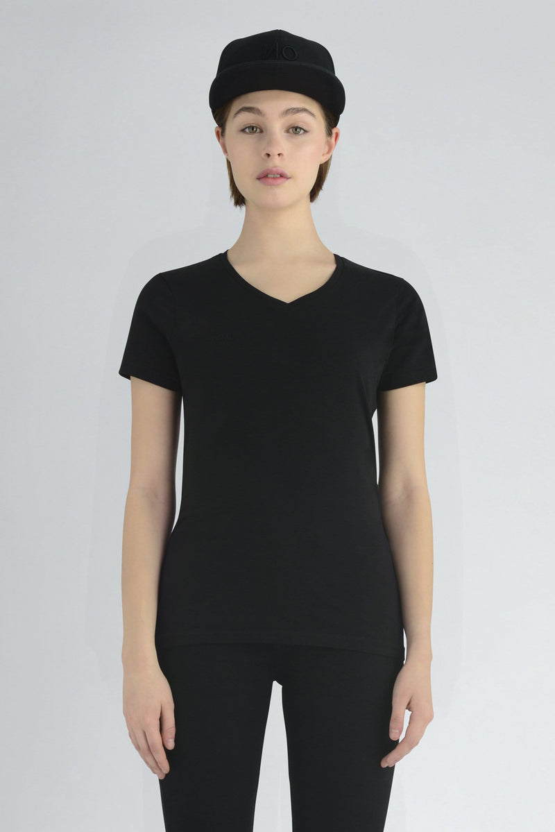 Enid V neck T-shirt - ИOKO - nokoclub.com