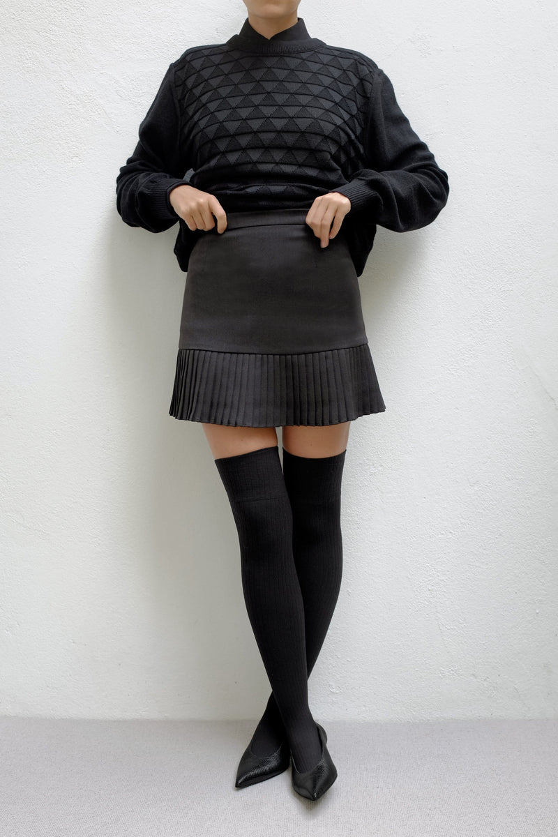 Mathilde Short Pleated Skirt - ИOKO - nokoclub.com