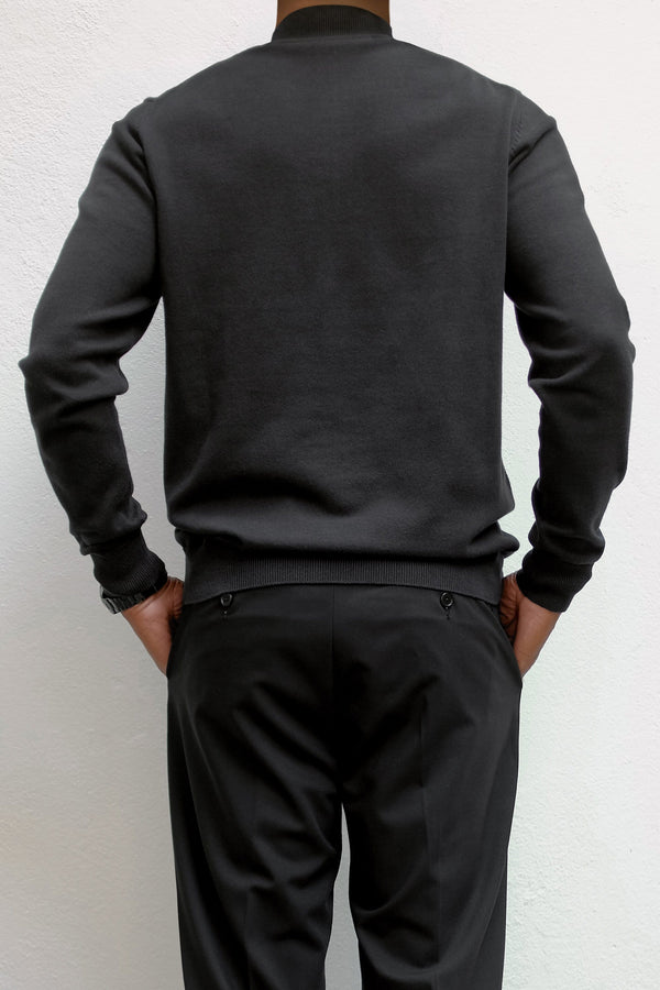 Magnus 1/4 zip sweater - ИOKO - nokoclub.com