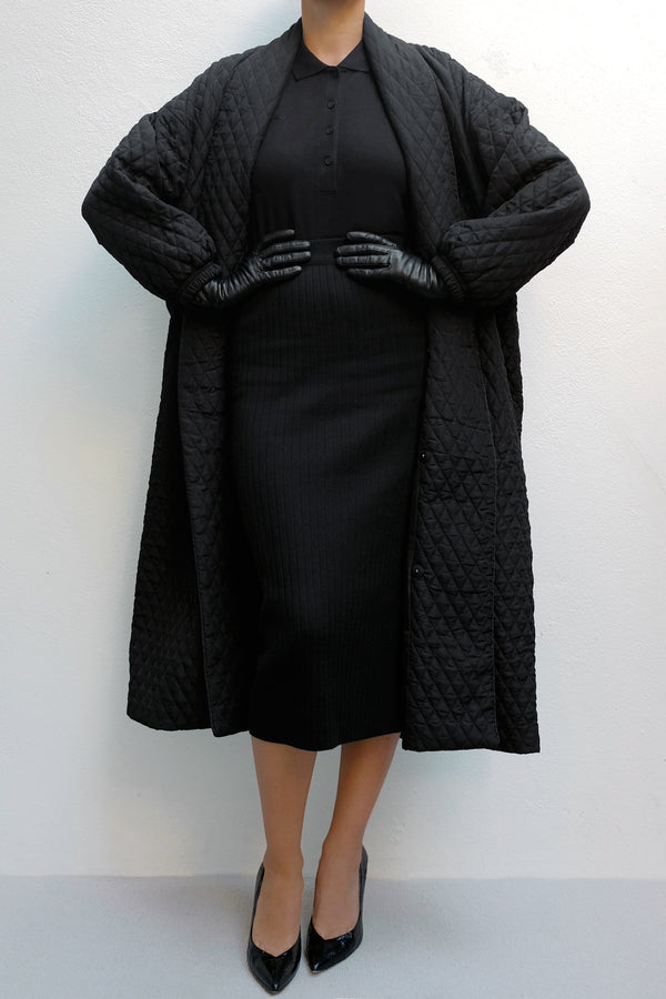 Mika  Lightweight Quilted Coat - ИOKO - nokoclub.com