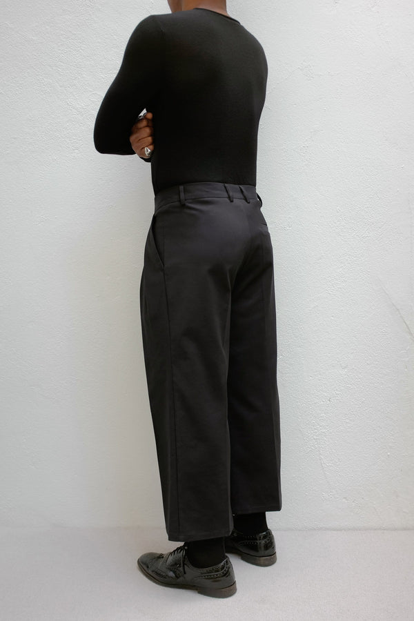 Thomas 3/4 Length Wide Trousers - ИOKO - nokoclub.com